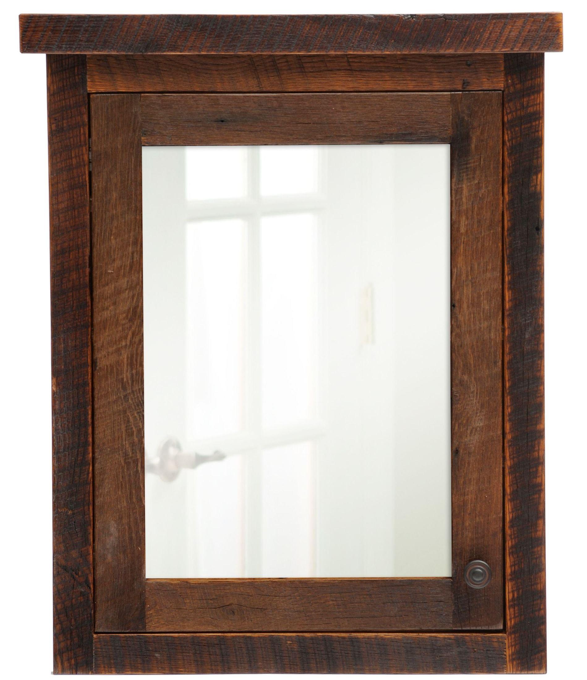 Barnwood Left Hinged Large Medicine Cabinet B33902HL