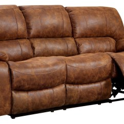 Leatherette Sofa There Slipcovers For Reclining Sofas Wagner Cm6315 Sf Furniture Of