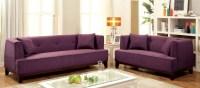 Sofia Purple Living Room Set, CM6761PR-SF-PK, Furniture of ...