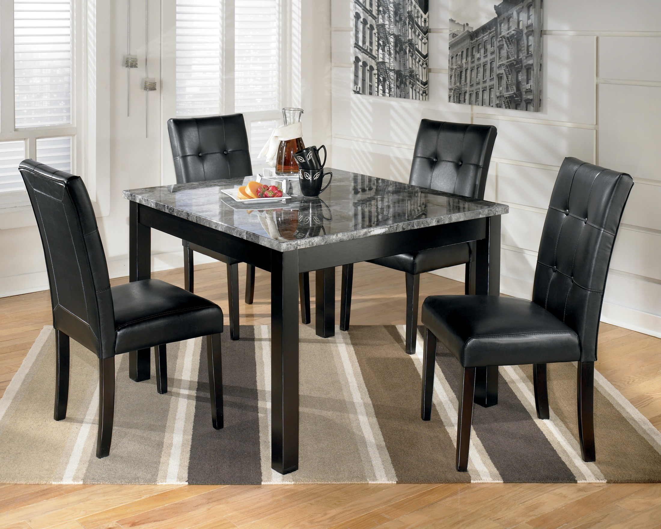 Maysville Square Dining Room Table Set D154 225 Ashley