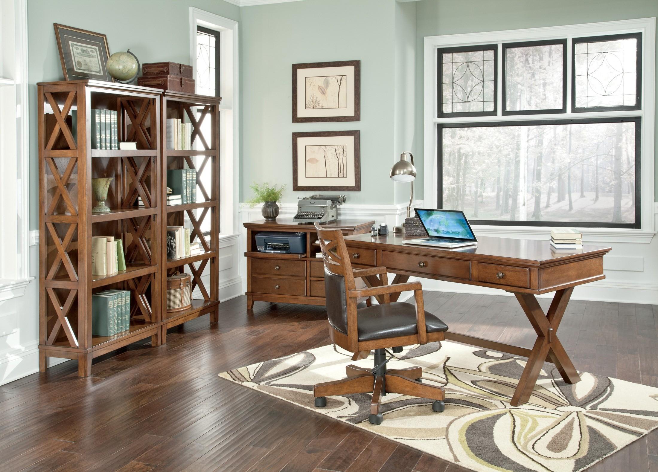 Burkesville Home Office Set, H565