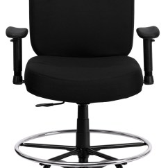 Stool Chair Big W Oviedo Leather Hercules Series And Tall Black Fabric Arm Drafting