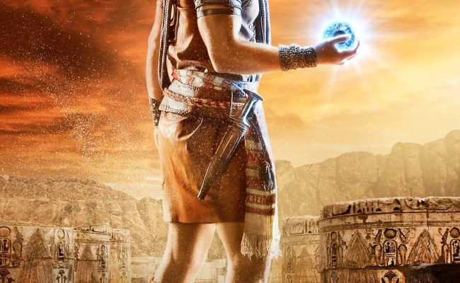 Gods Of Egypt Posters Feature Gerard Butler And Elodie