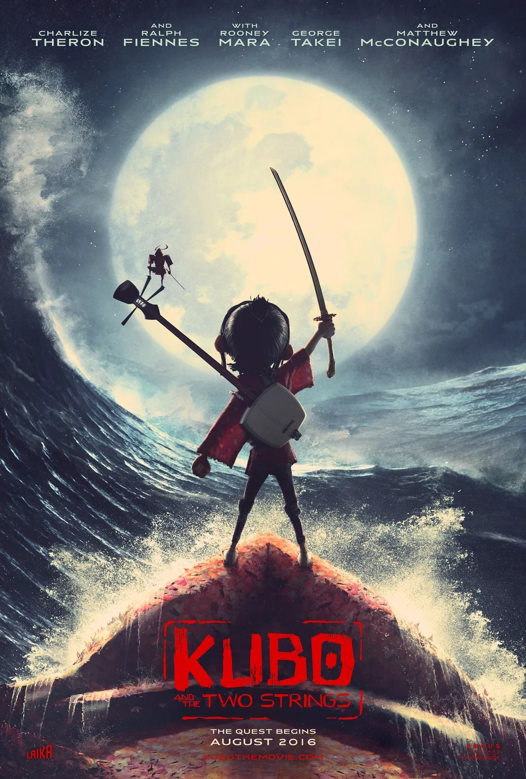 Bildergebnis für kubo and the two strings poster