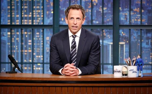 Seth Meyers Bans Donald Trump From Late Night Collider