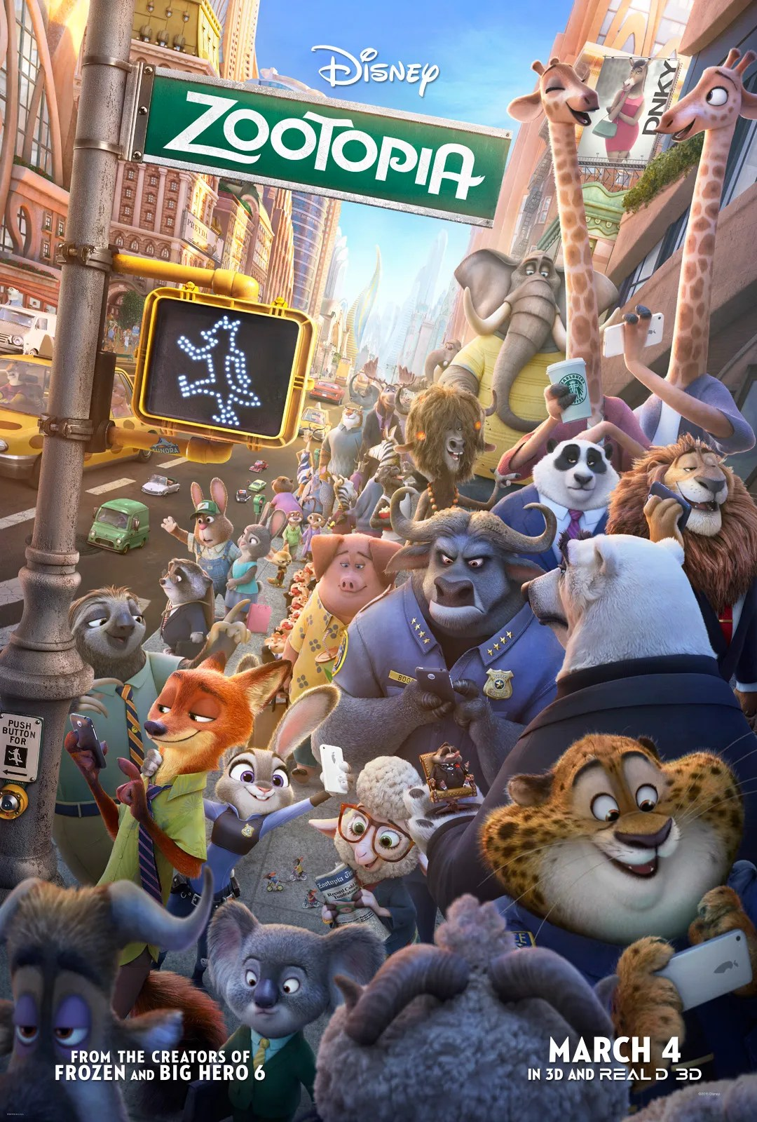 Image result for zootopia poster