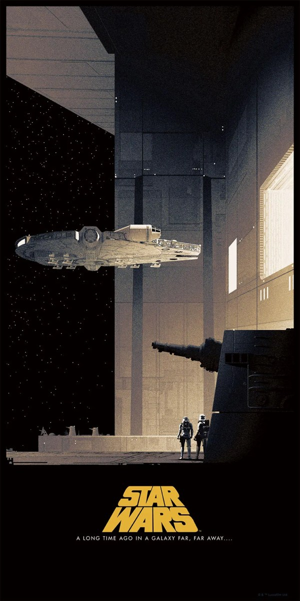 Star Wars Posters Matt Ferguson Bottleneck Collider