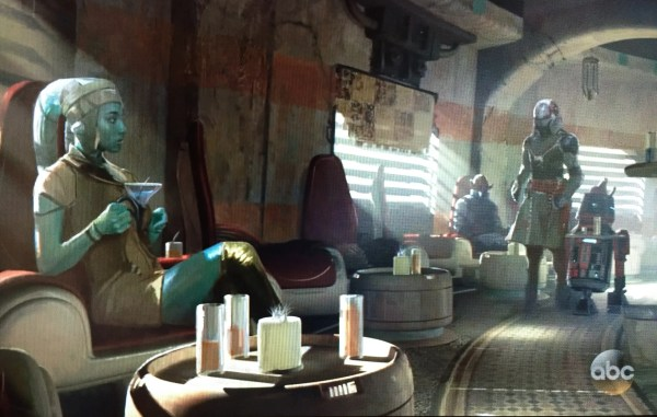 Star Wars Land Concept Art Reveals Disney Theme Park