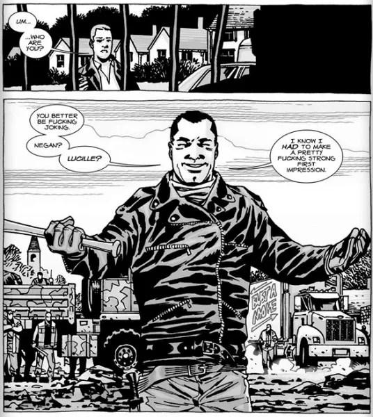 Walking Dead Jeffrey Dean Morgan On Negan's Foul Mouth