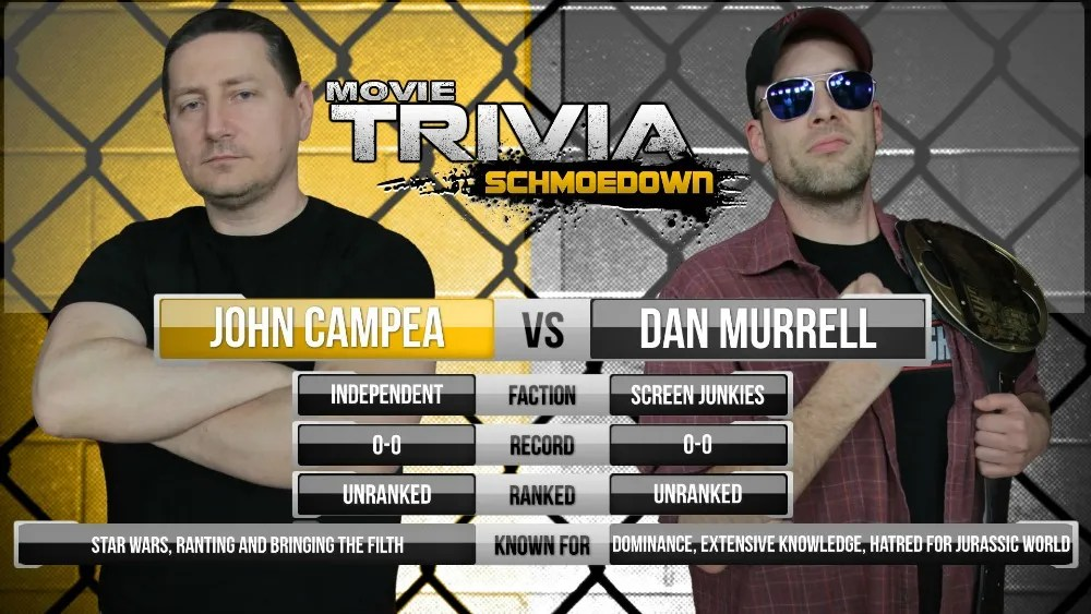 Image result for movie trivia schmoedown