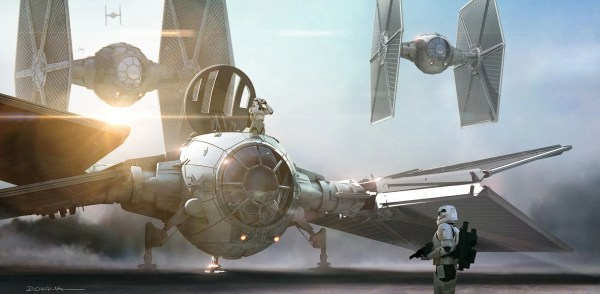 Star Wars Force Awakens Concept Art Revealed