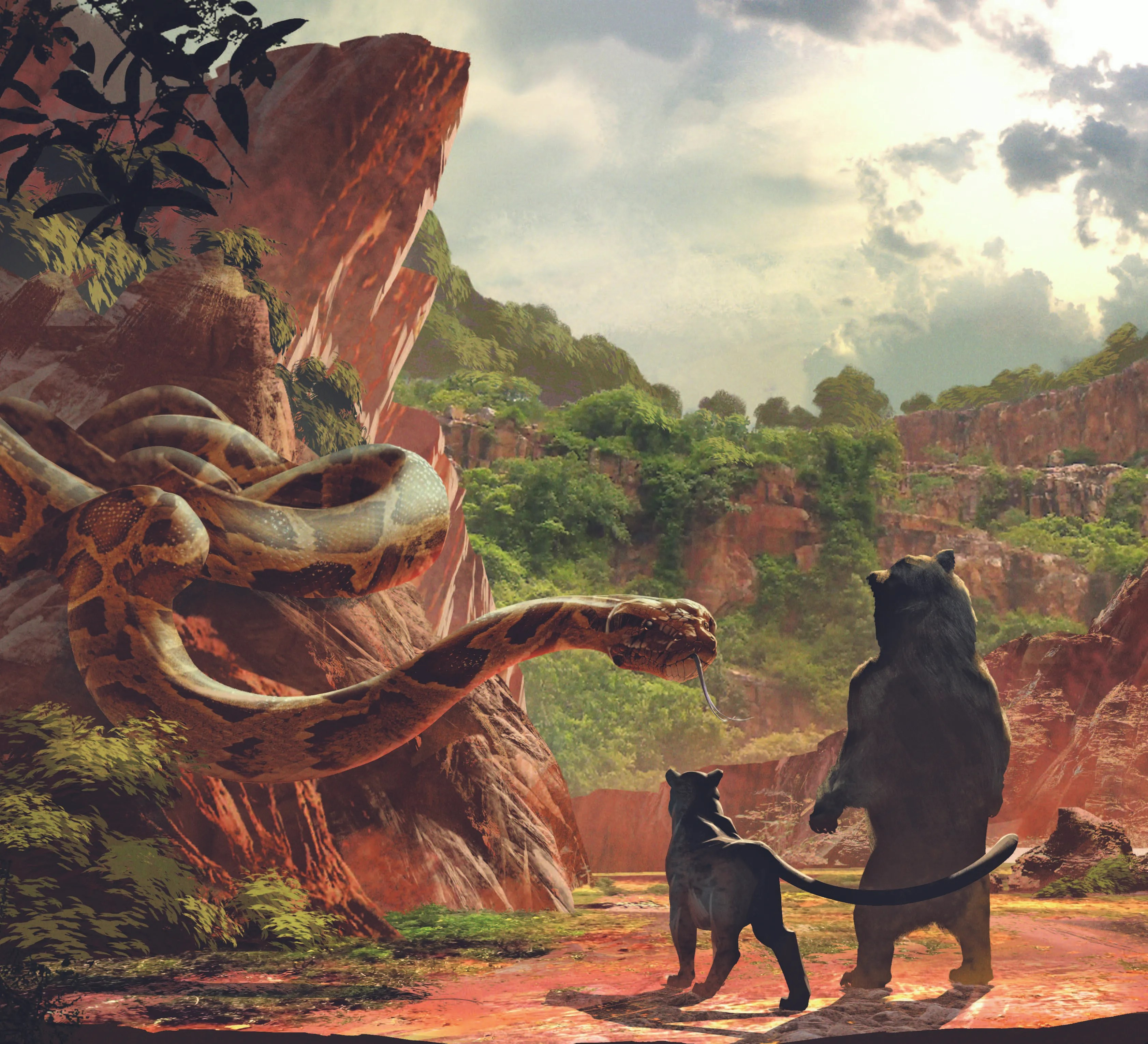 The Art Of The Jungle Book Images Reveal Making Of Remake Collider