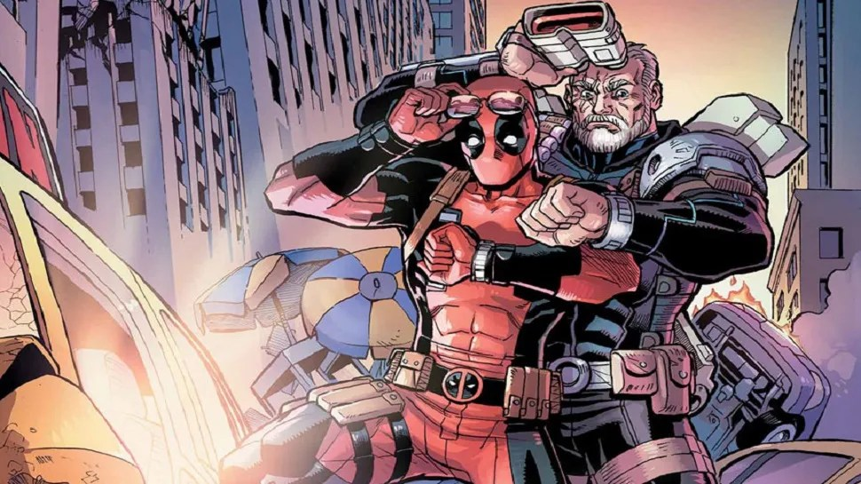 Image result for deadpool and Cable