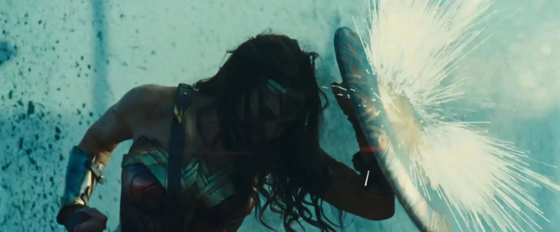 Image result for wonder woman stopping bullets