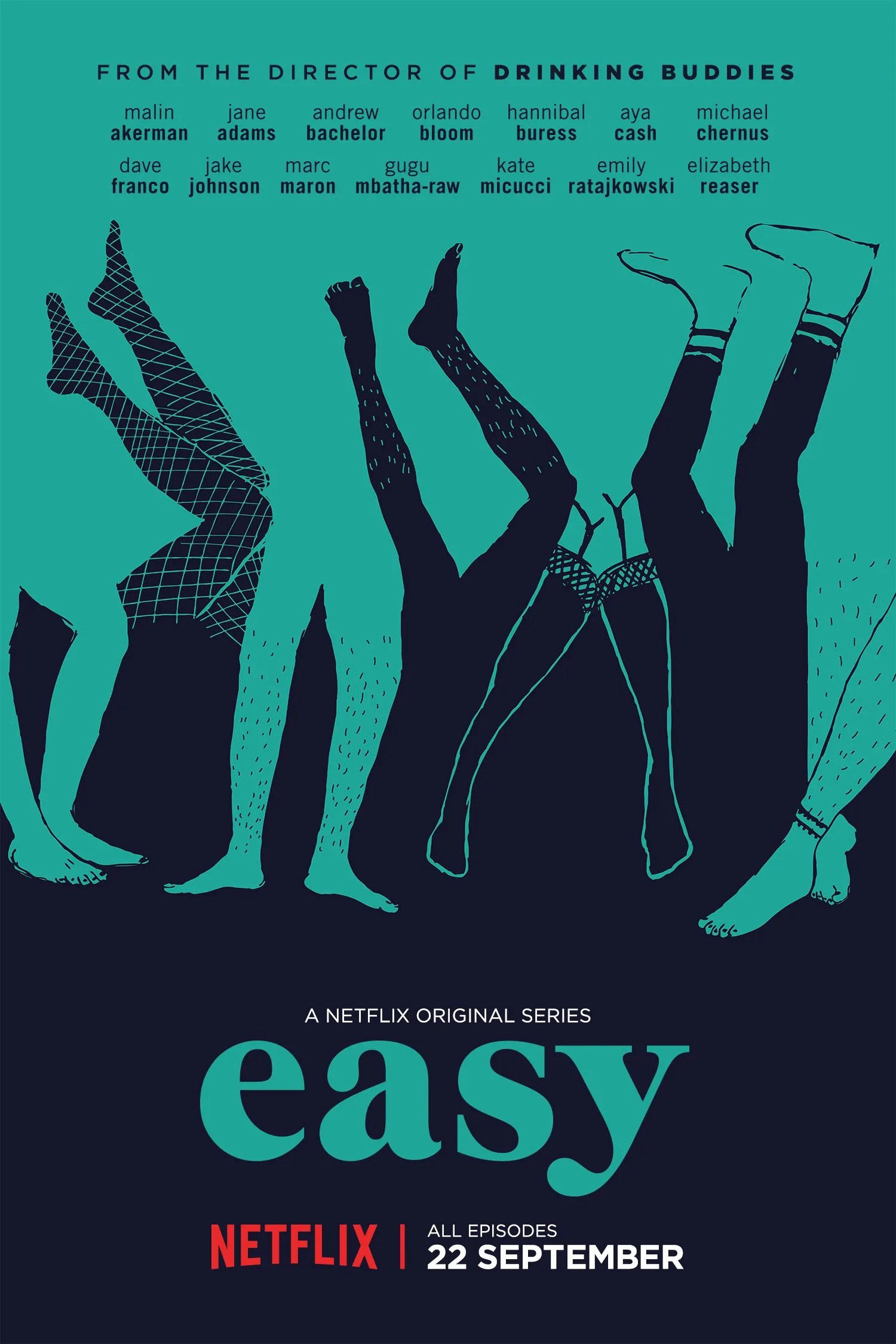 Image result for easy poster netflix