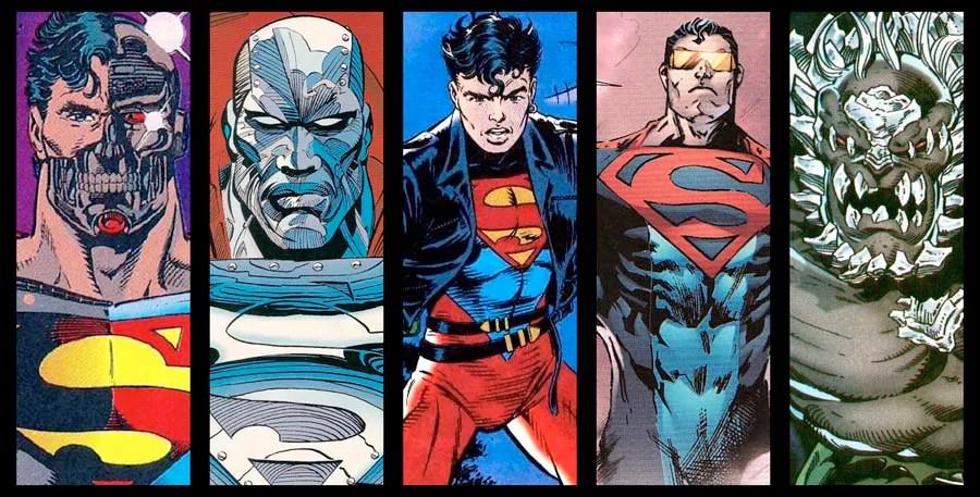 Image result for reign of superman