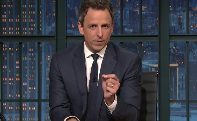 Watch Seth Meyers Emotionally Reflect On Election Results