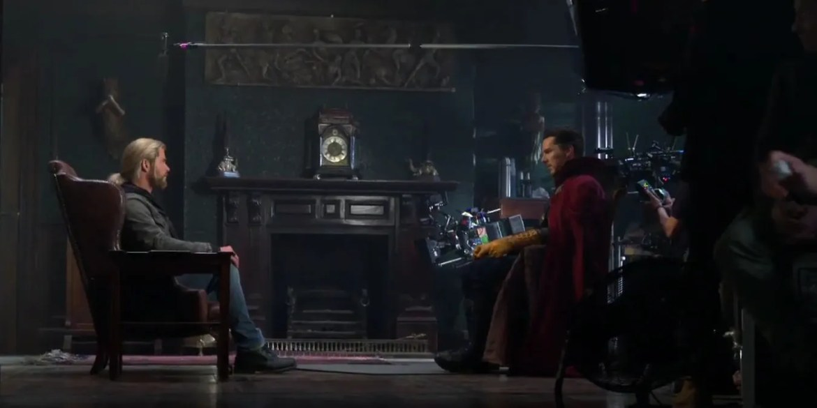 After-Credits Scene #1: The mid-credits scene in Doctor Strange is another  tease for a future film, once again just lifting a clip from said film.