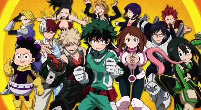 Image result for my hero academia vs dc