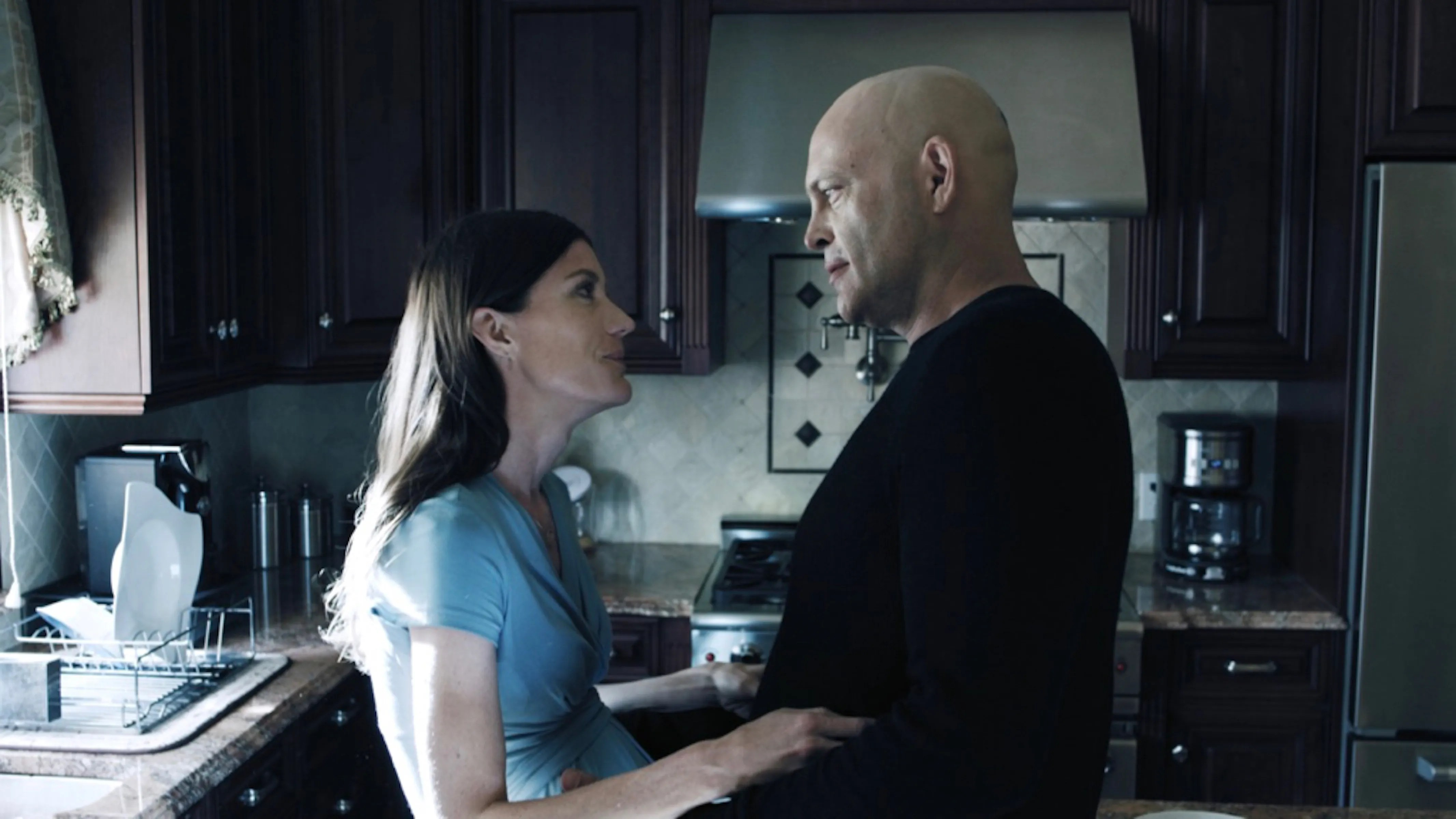 Vince Vaughn and Jennifer Carpenter in Brawl in Cell Block 99 which is a movie called Brawl in Cell Block 99 with Vince Vaughn and Jennifer Carpenter in a movie called Brawl in Cell Block 99 which still needed some Craigula.