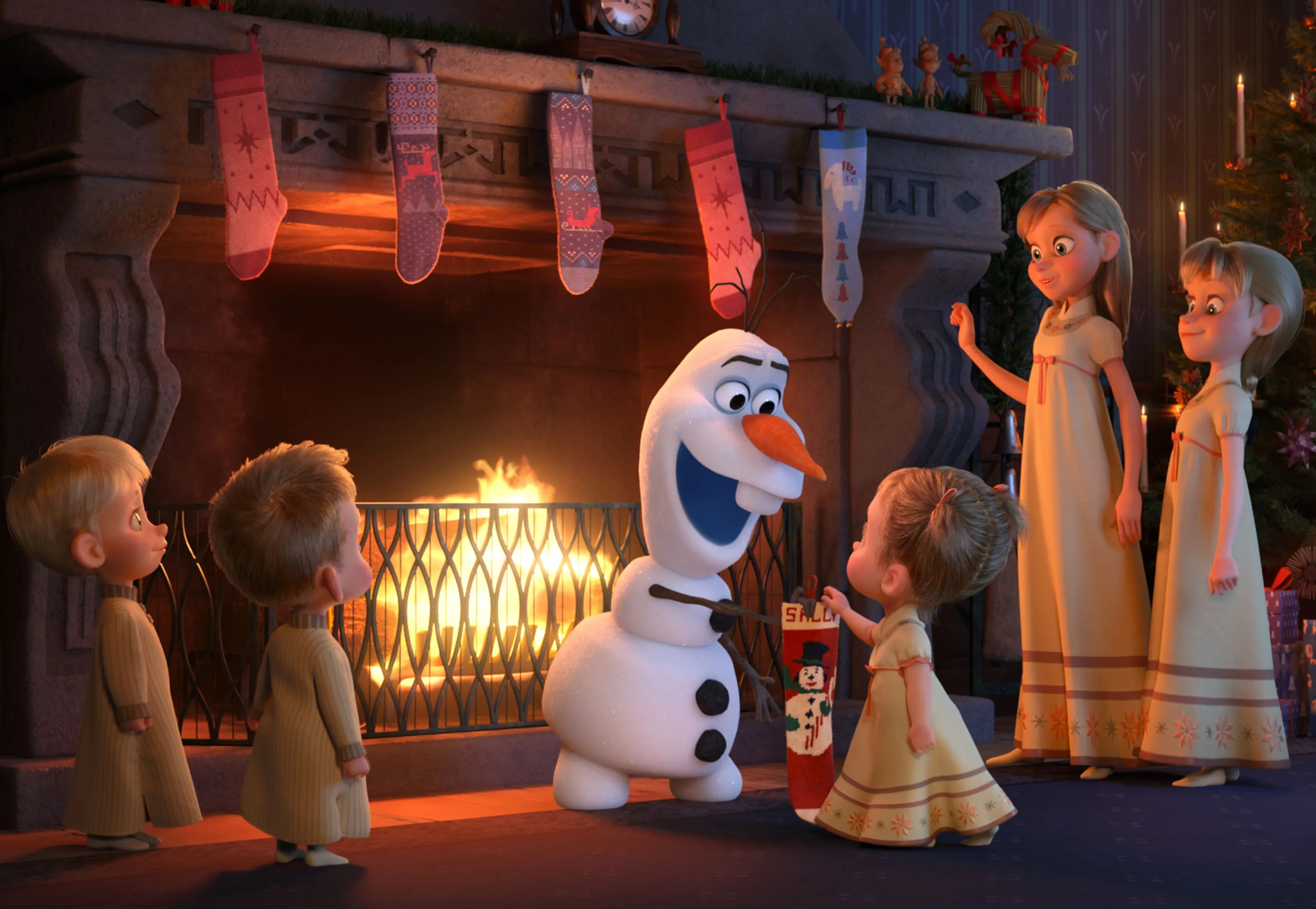 Cute Goat Wallpaper Olaf S Frozen Adventure Directors On Crafting The Short