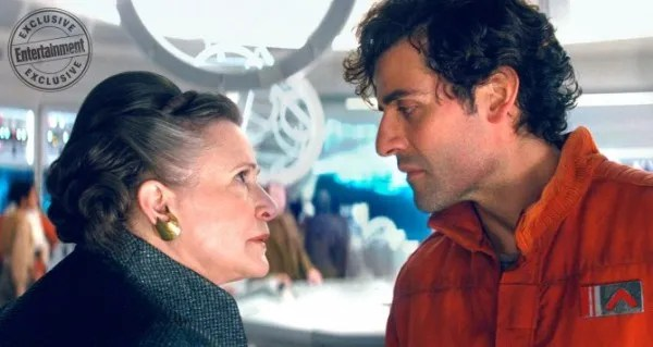 star-wars-the-last-jedi-carrie-fisher-oscar-isaacs
