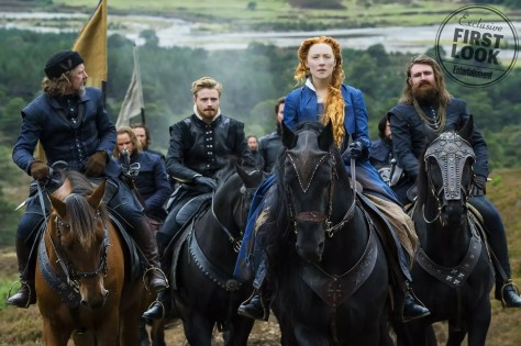 Saoirse Ronan & Margot Robbie in Mary: Queen of Scots trailer