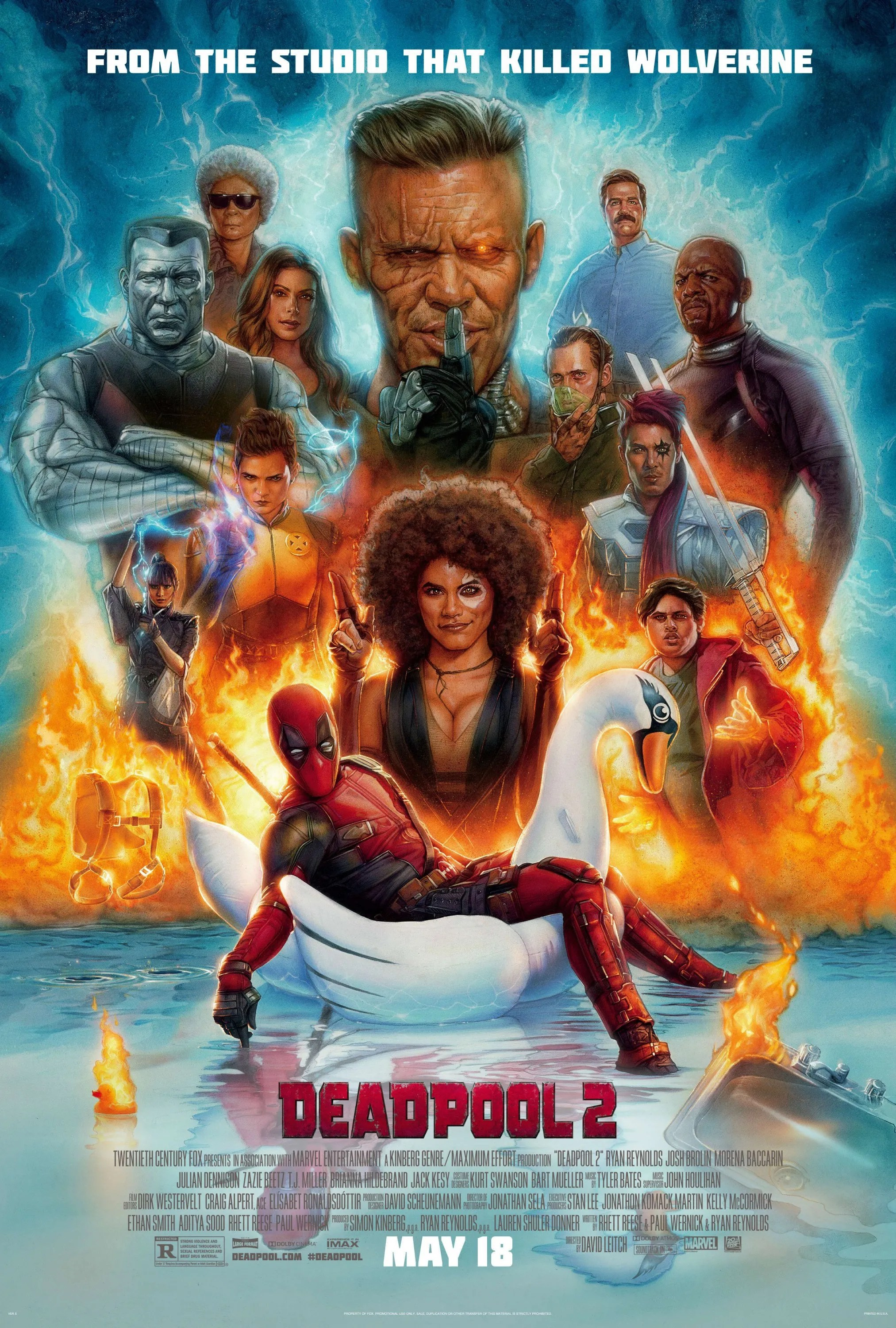 Image result for deadpool 2 poster