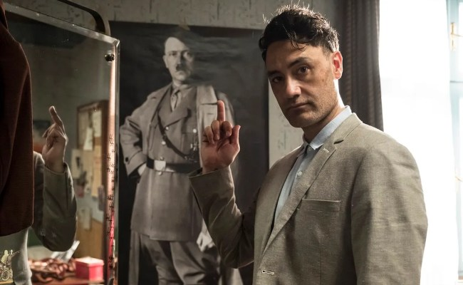 Jojo Rabbit Image Reveals Taika Waititi S Take On Hitler