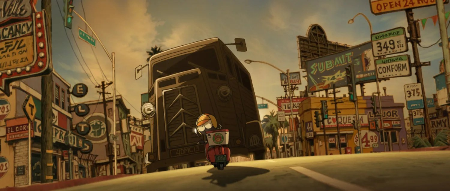 Strong Girl Wallpaper Gkids Acquires Mutafukaz For North American Release As