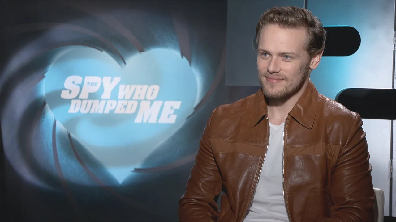 Sam Heughan On The Spy Who Dumped Me And James Bond Collider