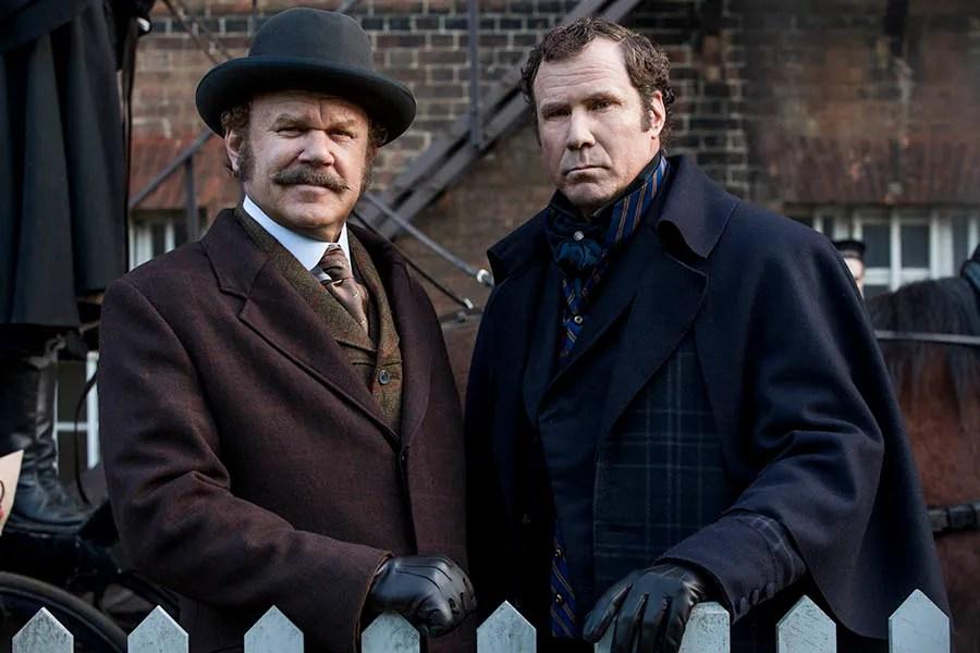 Cartoon Couple Wallpaper Hd Holmes Amp Watson Trailer Stars Will Ferrell And John C