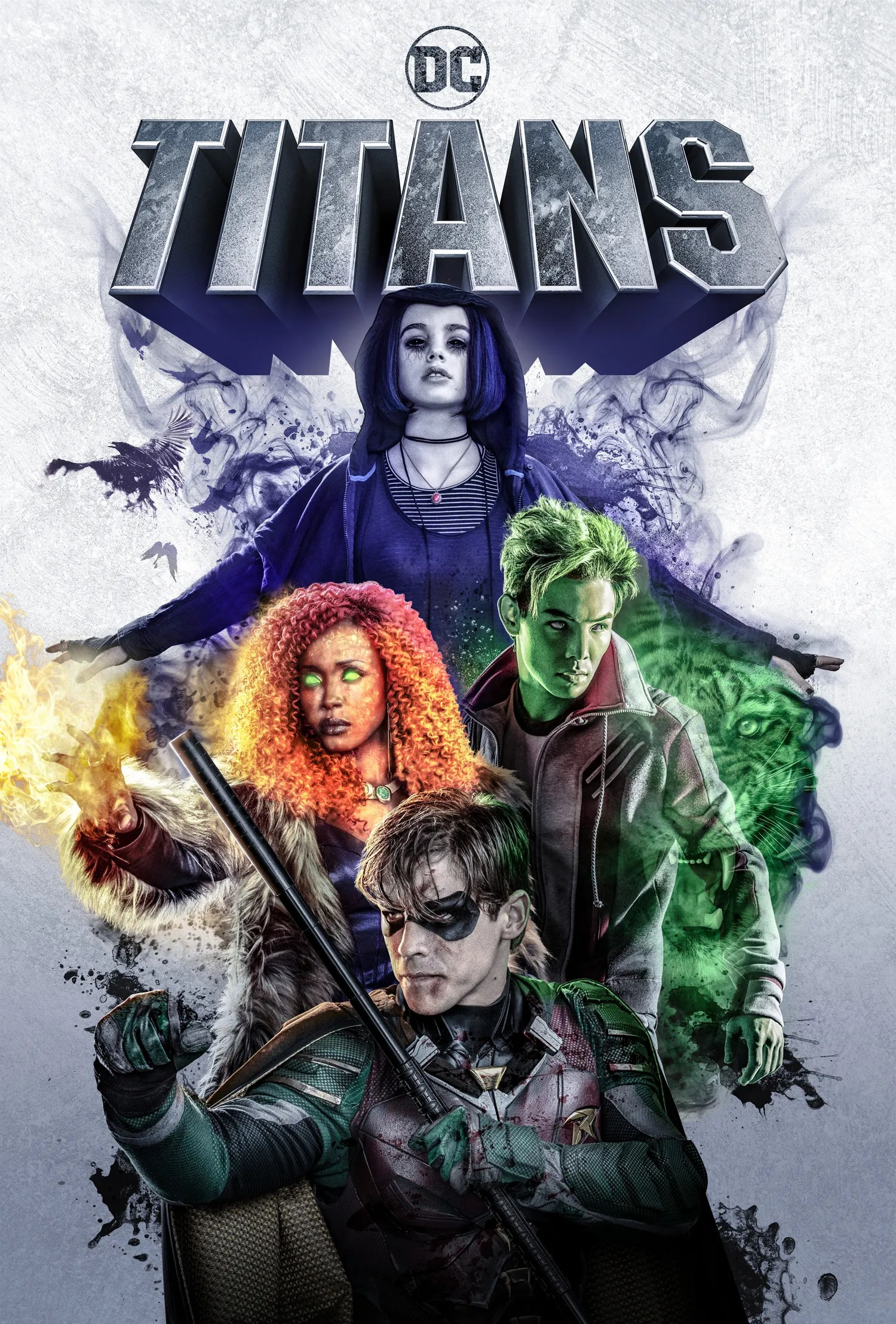 New Titans Poster Brings The DC Universe Gang Together