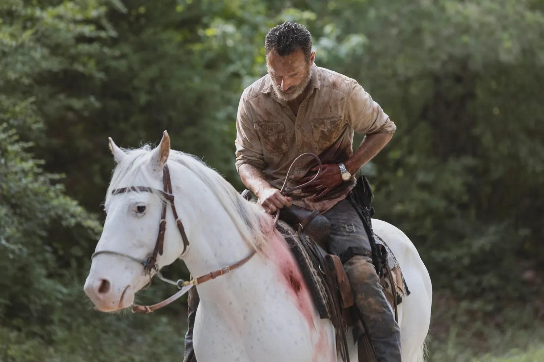 Andrew Lincoln Jon Bernthal Reunite in The Walking Dead