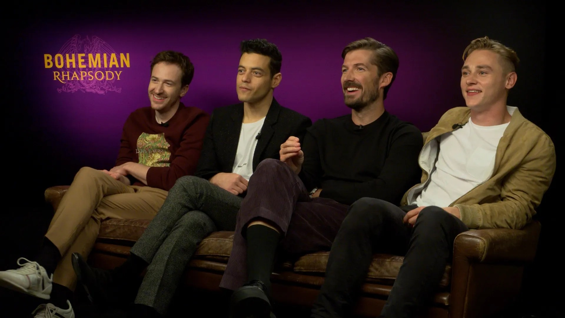 Bohemian Rhapsody Cast on Filming the Live Aid Concert  Collider