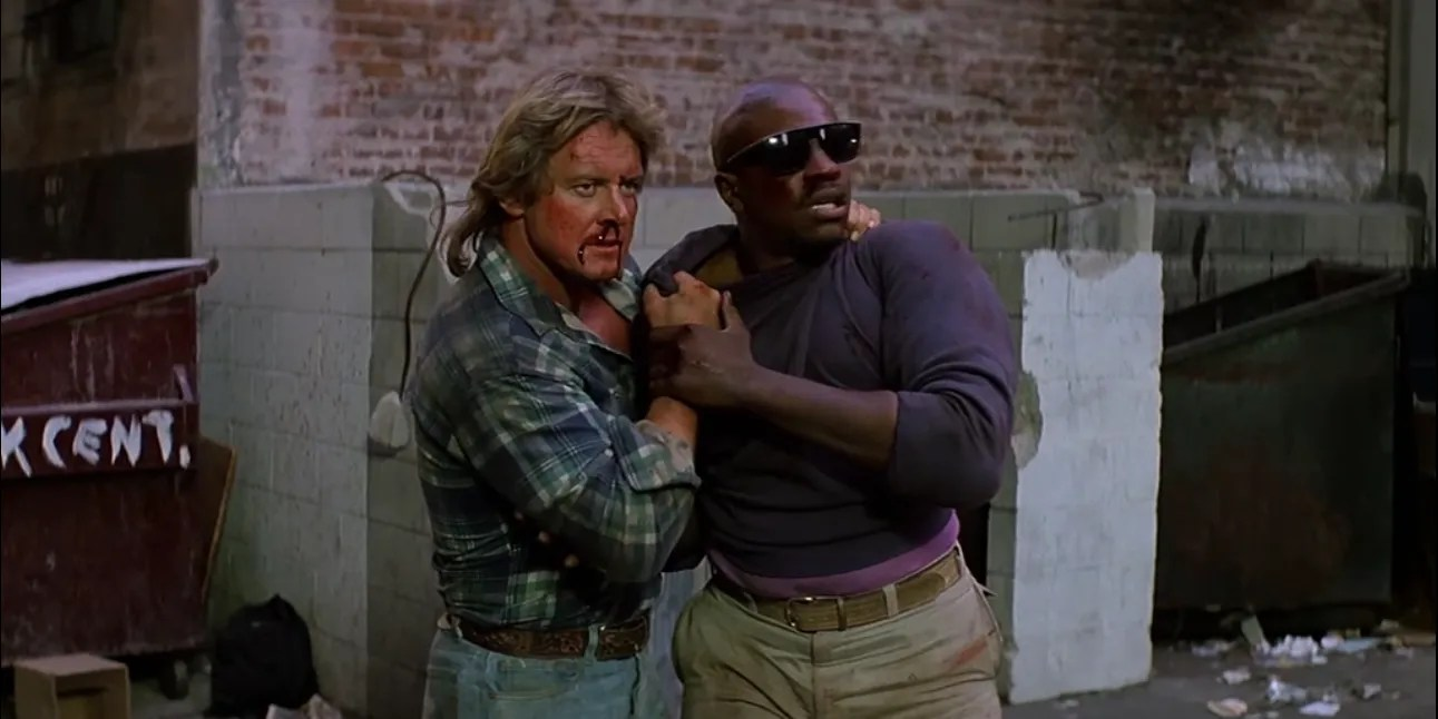 Best Hd Live Wallpaper The Alley Brawl In They Live Is Still One Of Film S Best