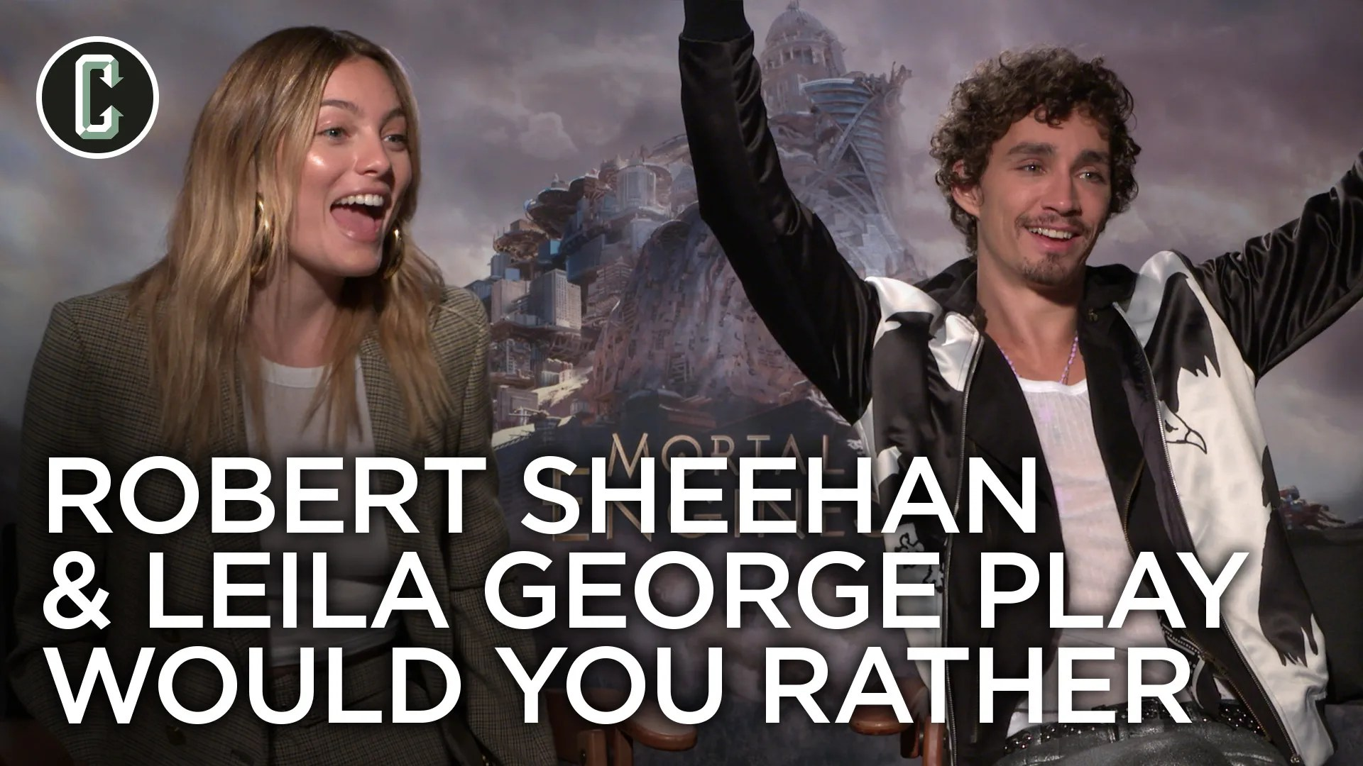 Mortal Engines Robert Sheehan & Leila George Play Would