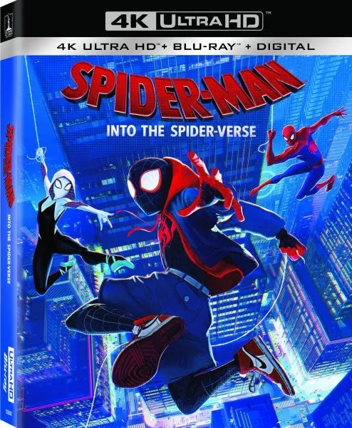SpiderMan Into the SpiderVerse Bluray Details Revealed