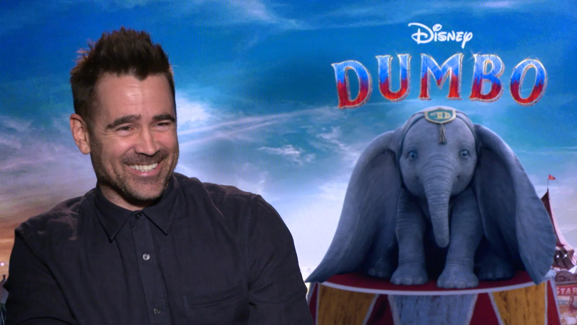Colin Farrell Reveals His Close Kinship to Dumbo