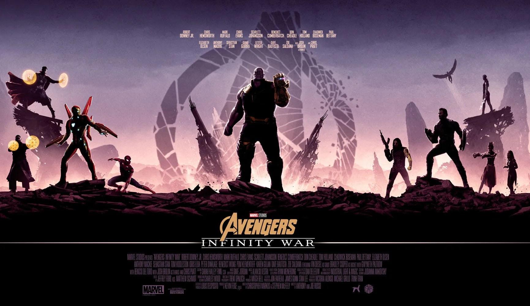 Avengers Animated Wallpaper Avengers Infinity War Poster By Matt Ferguson Befits An