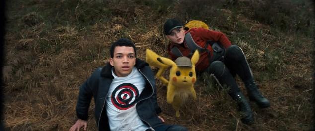 Image result for pokemon detective pikachu cast