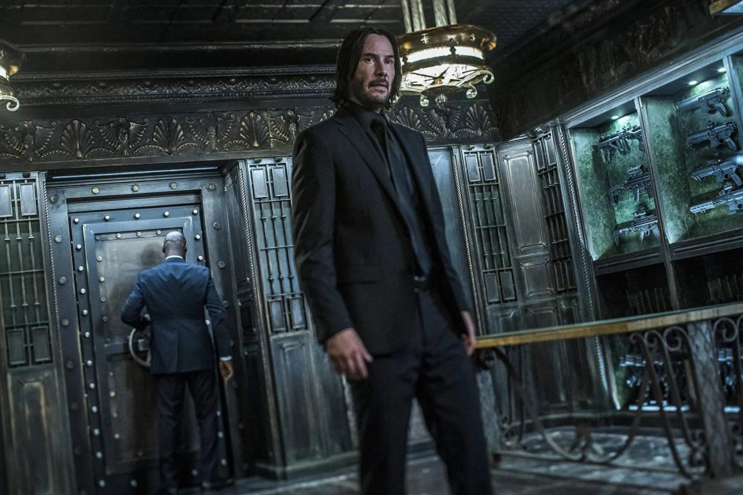 Keanu Reeves on John Wick 3 and Killing an NBA Player With