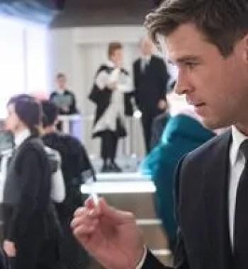 'Men In Black: International' Stars Tessa Thompson & Chris Hemsworth on Their 'Thor' Reunion and Alien Gunplay