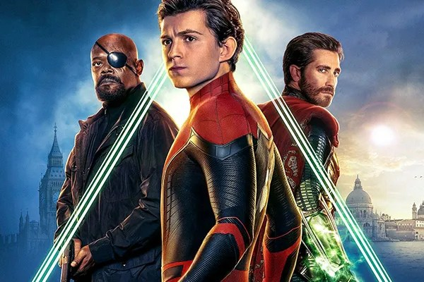 Spider-Man: Far From Home Posters Look off into the Distance   Collider
