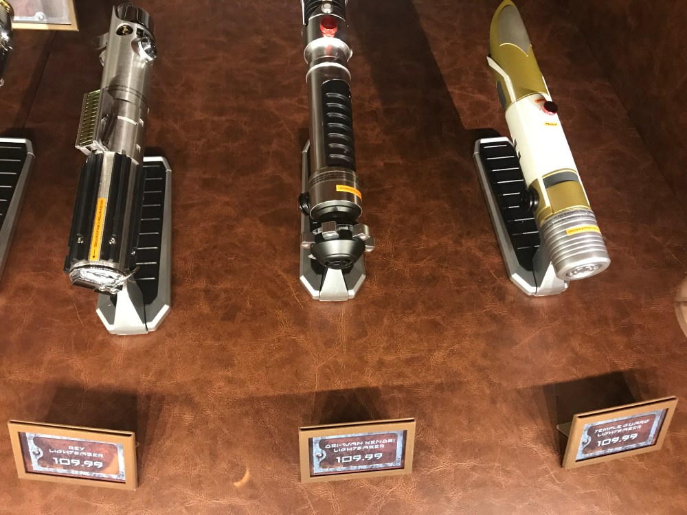 medium resolution of star wars galaxys edge lightsabers