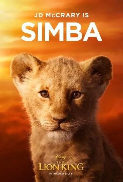 le-lion-roi-affiche-jeune-simba