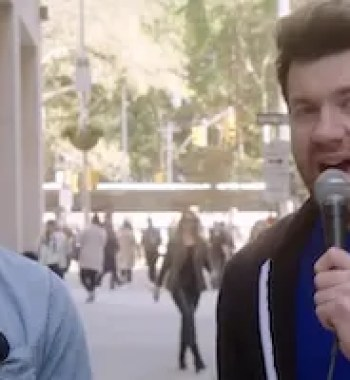 Very Charming Human Chris Evans Improves Sidewalk Experience in 'Billy on the Street'