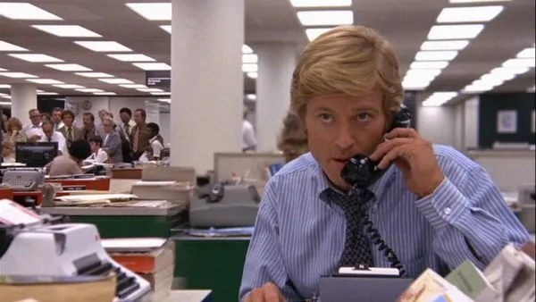 all-the-presidents-men-robert-redford-phone-call