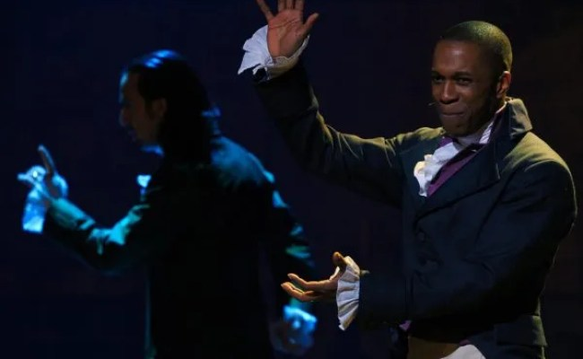 Hamilton Emmy Raver Lampman On How Leslie Odom Jr Fought