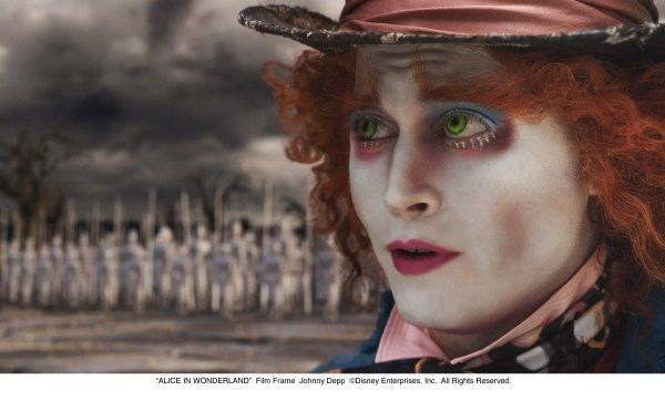 Johnny Depp Alice in Wonderland
